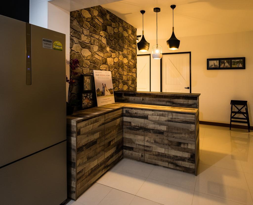 Scandinavian, HDB, Kitchen, Edgedale Plains (Block 662A), Interior Designer, Nitty Gritty Interior