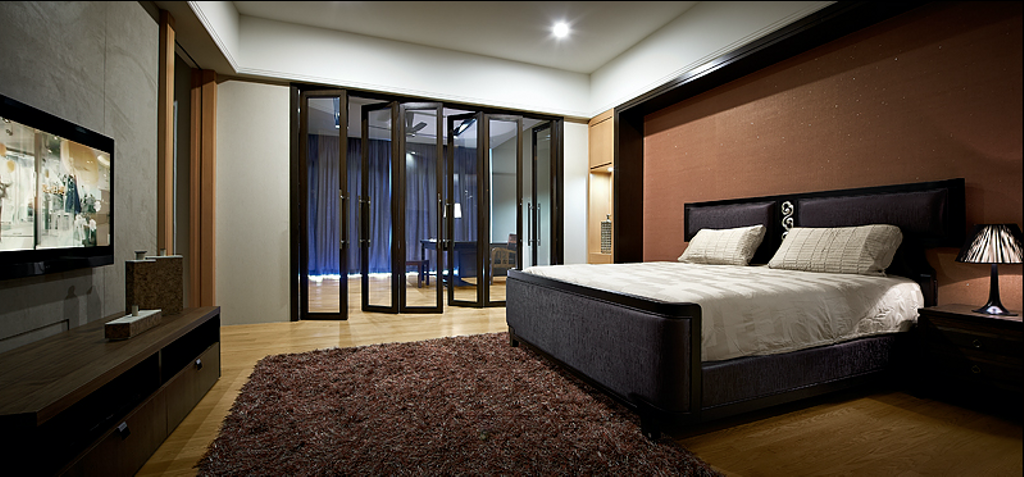 Modern, Condo, Bedroom, Sky Home, Penang, Interior Designer, Archiplan Interior Design, Contemporary, Bed, Furniture, Indoors, Room