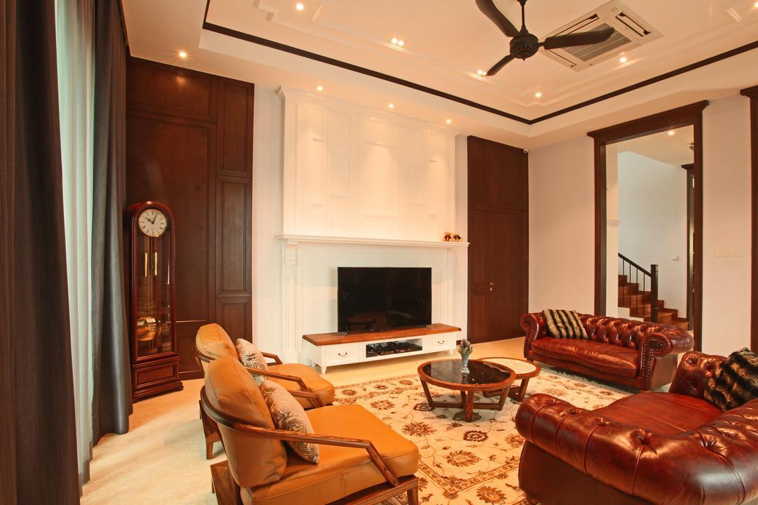 Fortune Residence, Codrington Road @ Penang Living Room Interior Design 4