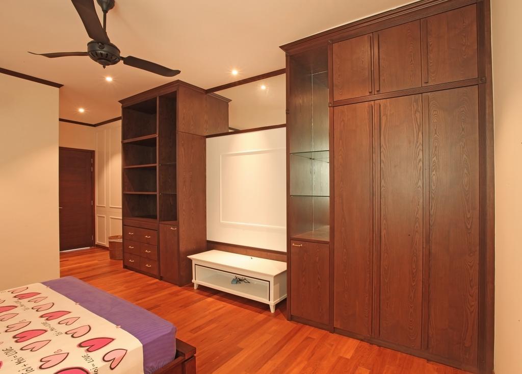 Modern, Landed, Bedroom, Fortune Residence, Codrington Road @ Penang, Interior Designer, Archiplan Interior Design, Transitional