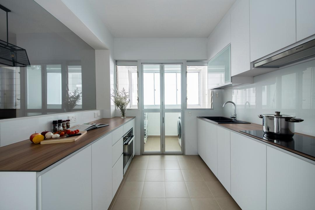 White Kitchen Cabinet Interior Design Singapore Interior Design Ideas