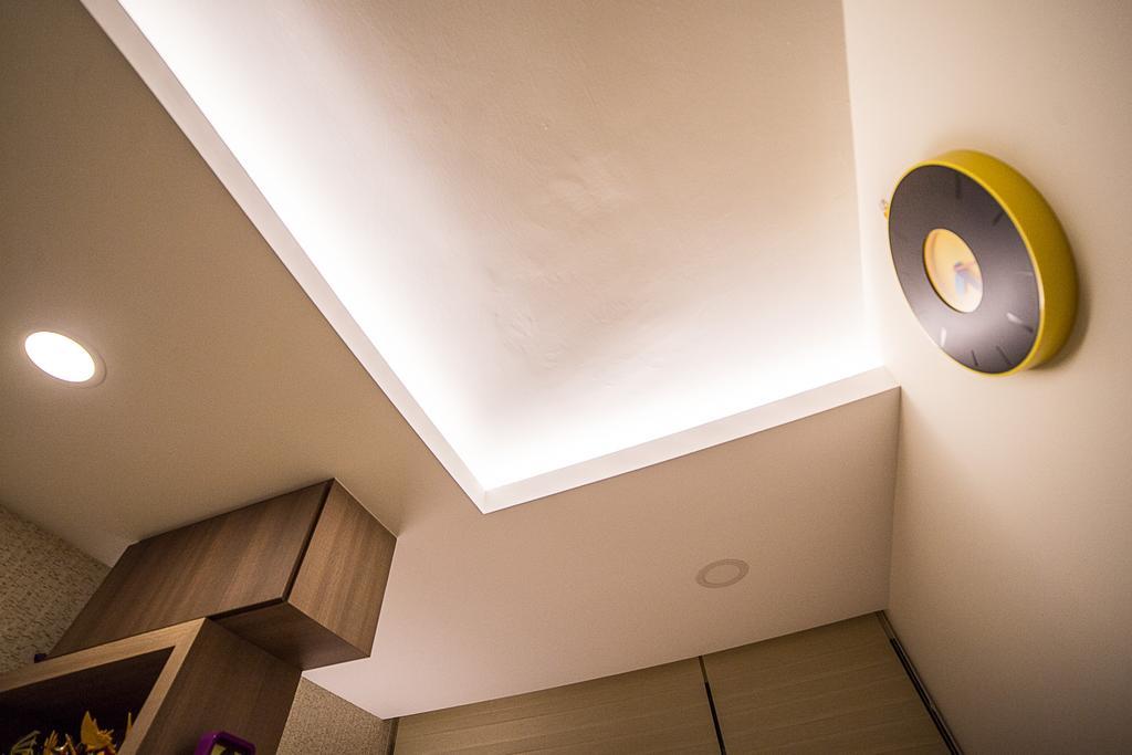 Modern, HDB, Living Room, La Fiesta, Interior Designer, MET Interior, Light Fixture