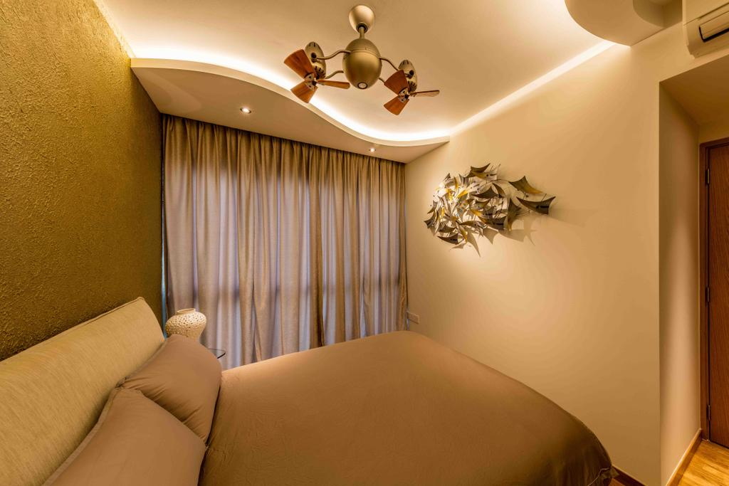 Contemporary, Condo, Bedroom, Park Olympia, Interior Designer, Ciseern, Indoors, Interior Design, Room