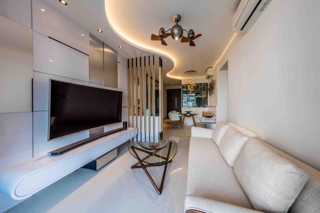 Park Olympia Living Room Interior Design 6