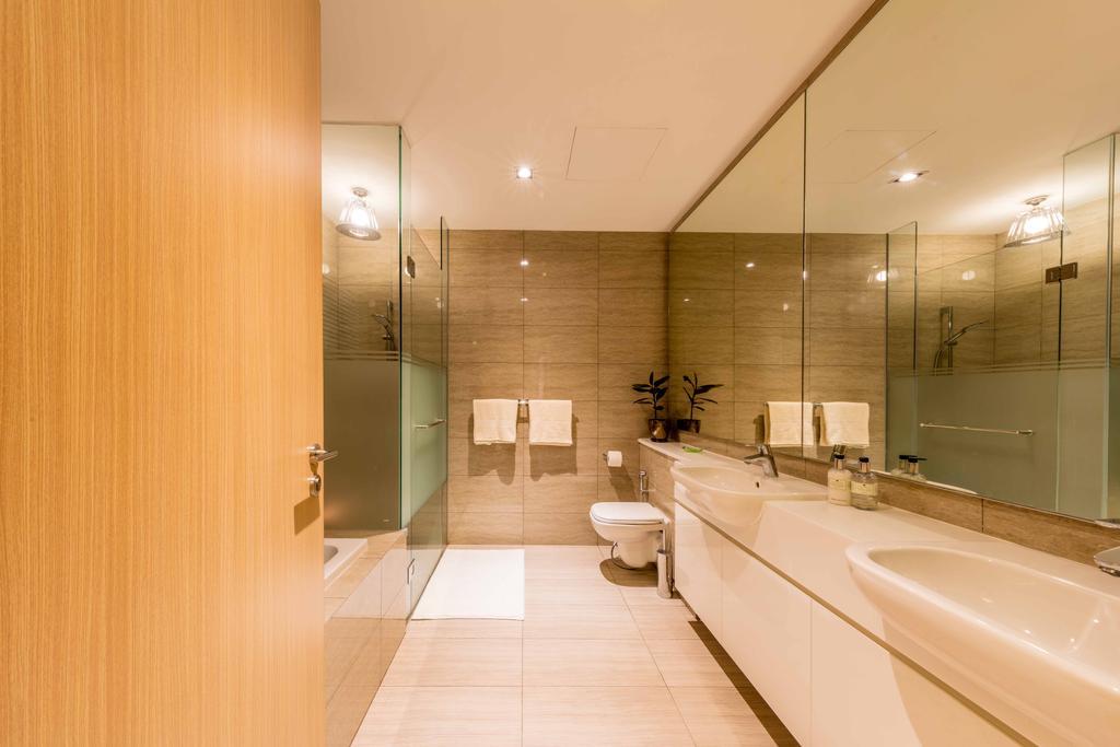 Modern, Condo, Bathroom, Ripple Bay, Interior Designer, Ciseern, Transitional, Indoors, Interior Design, Room, Sink