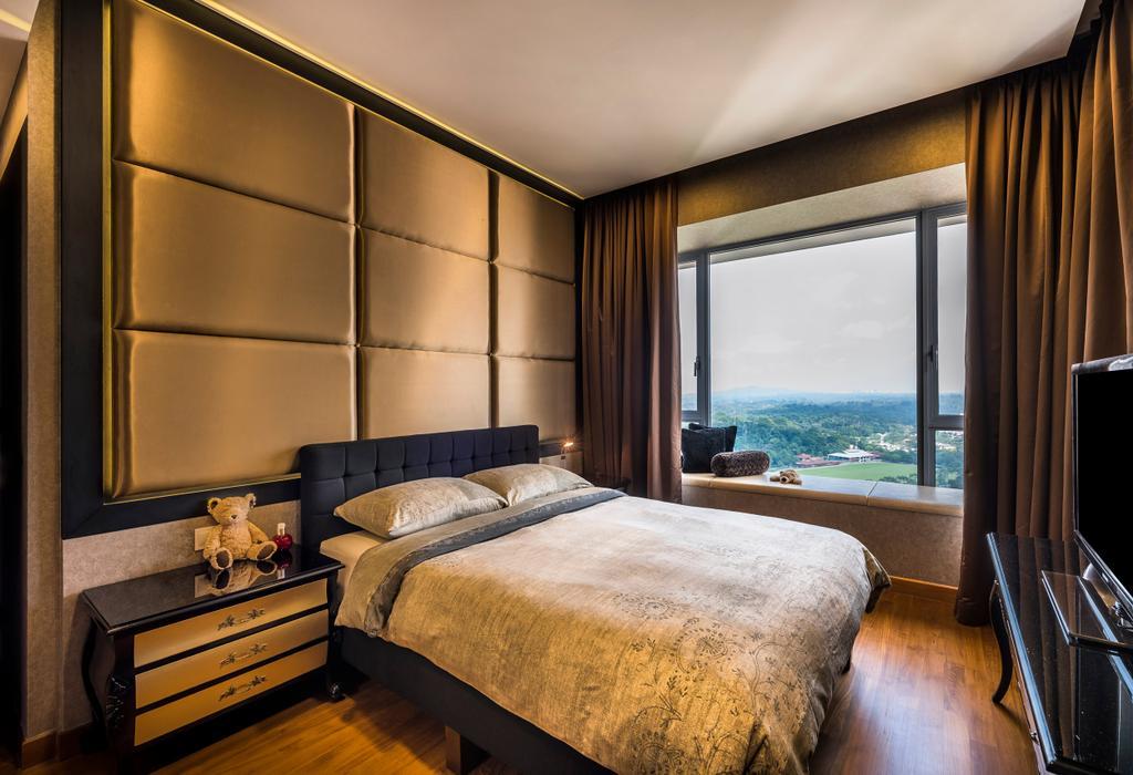 Modern, Condo, Bedroom, Vista Residences, Interior Designer, Ciseern, Indoors, Interior Design, Room, Bed, Furniture