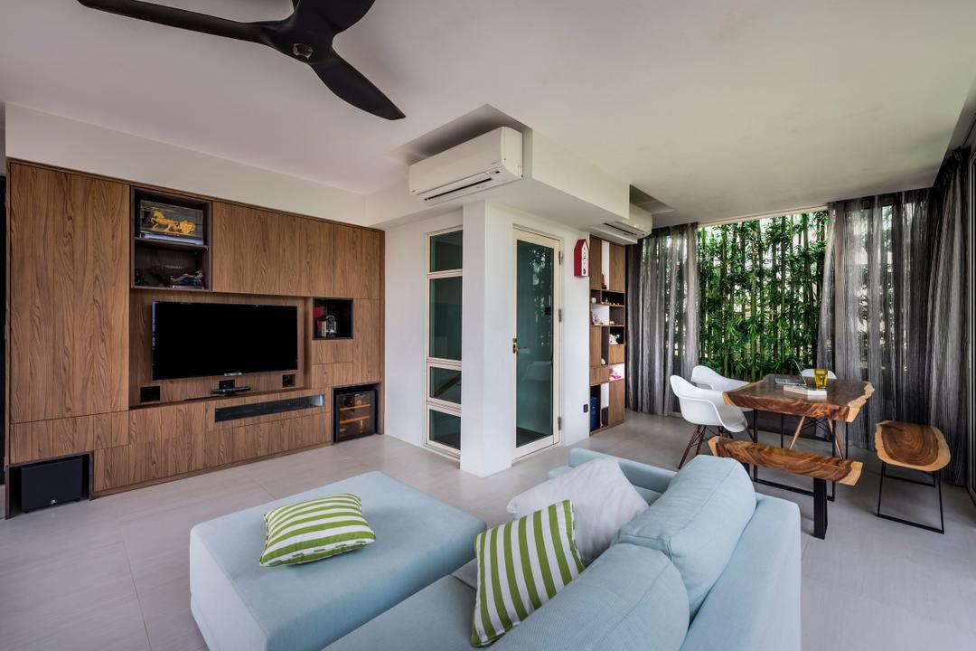 Hillview Avenue Living Room Interior Design 2