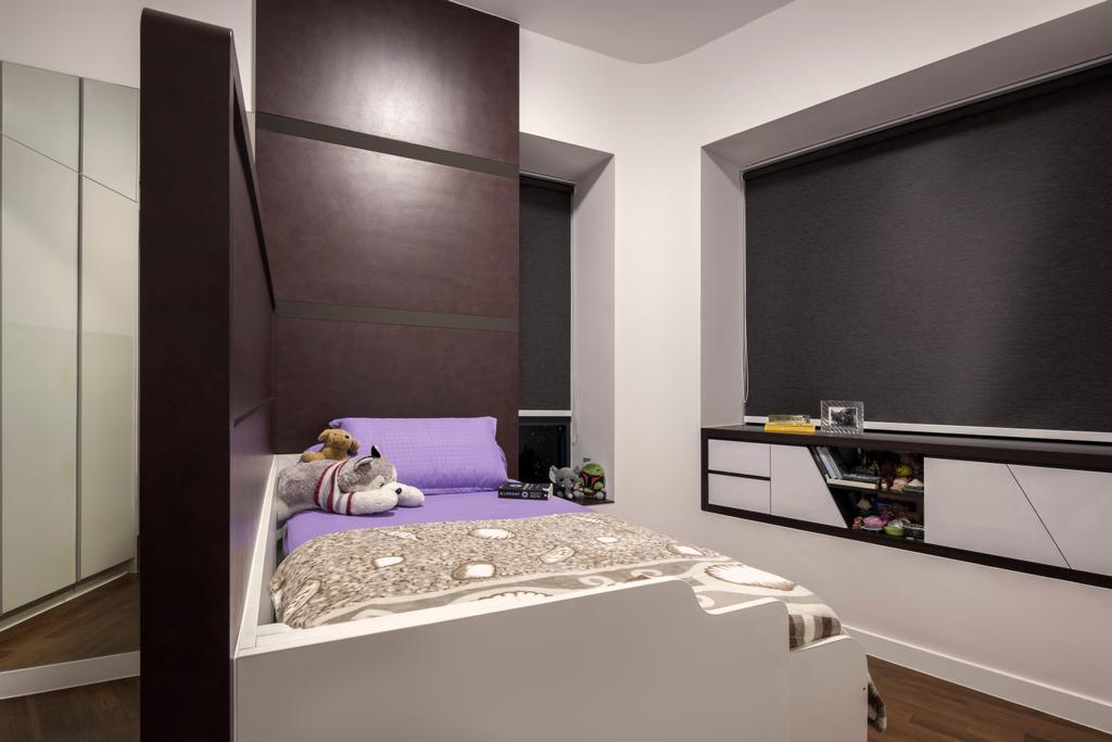 Modern, Condo, Bedroom, 3 Leedon Height, Interior Designer, De Style Interior, Contemporary, Bed, Furniture, Flooring
