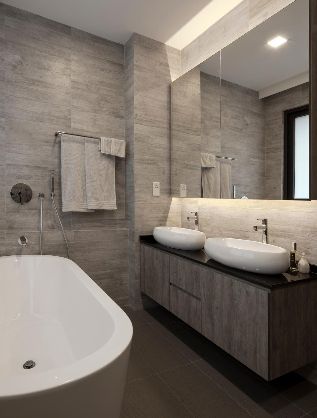 Contemporary, Landed, Bathroom, Jalan Jambu Mawar, Interior Designer, De Style Interior, Indoors, Interior Design, Room