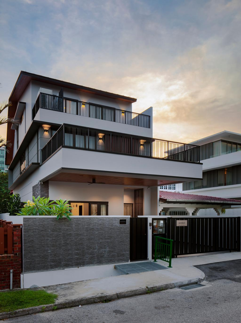 Contemporary, Landed, Jalan Jambu Mawar, Interior Designer, De Style Interior, Flora, Jar, Plant, Potted Plant, Pottery, Vase, Building, Housing