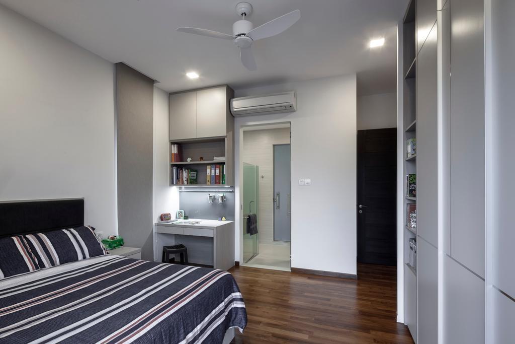 Contemporary, Landed, Bedroom, Jalan Jambu Mawar, Interior Designer, De Style Interior