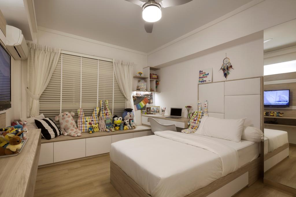 Contemporary, HDB, Bedroom, 204 Pasir Ris, Interior Designer, De Style Interior, Appliance, Electrical Device, Oven, Indoors, Interior Design