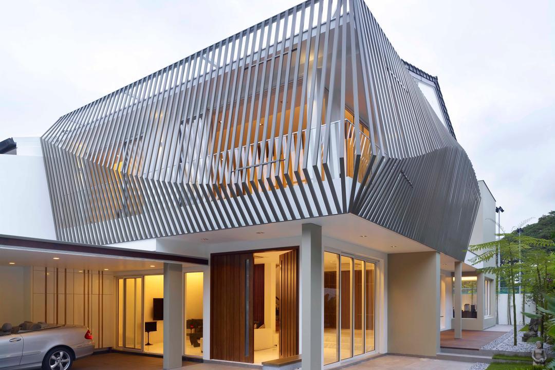 Mount Sinai, TOPOS Design Studio, Modern, Landed, Exterior View, Carpark Lot