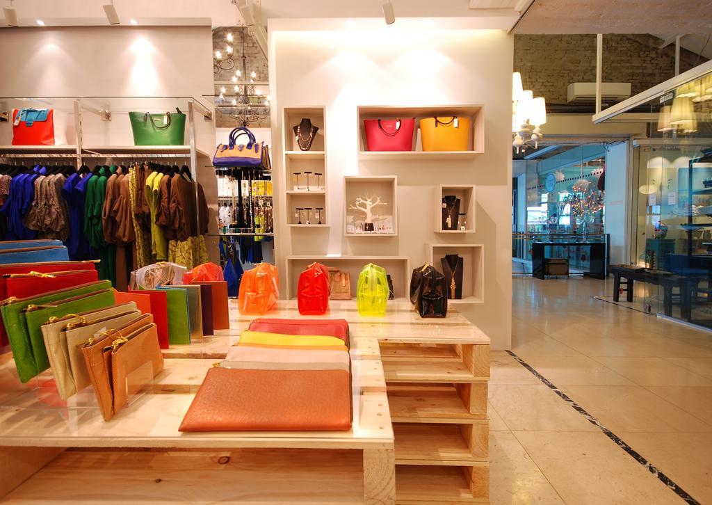 Twenty Twenty 9, Commercial, Architect, TOPOS Design Studio, Scandinavian, Wooden Crates, Wall Shelf, Wall Mounted Shelf, Ceiling Lighting, Clothing Rack, Luggage, Suitcase