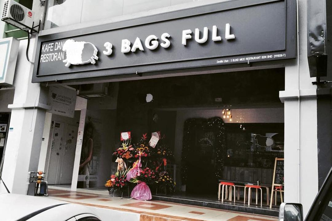 3 Bags Full Cafe @ Kota Damansara, MLA Design, Industrial, Commercial, Cafe, Exterior, Monochrome, Shop, Subway, Terminal, Train, Train Station, Transportation, Vehicle, Restaurant
