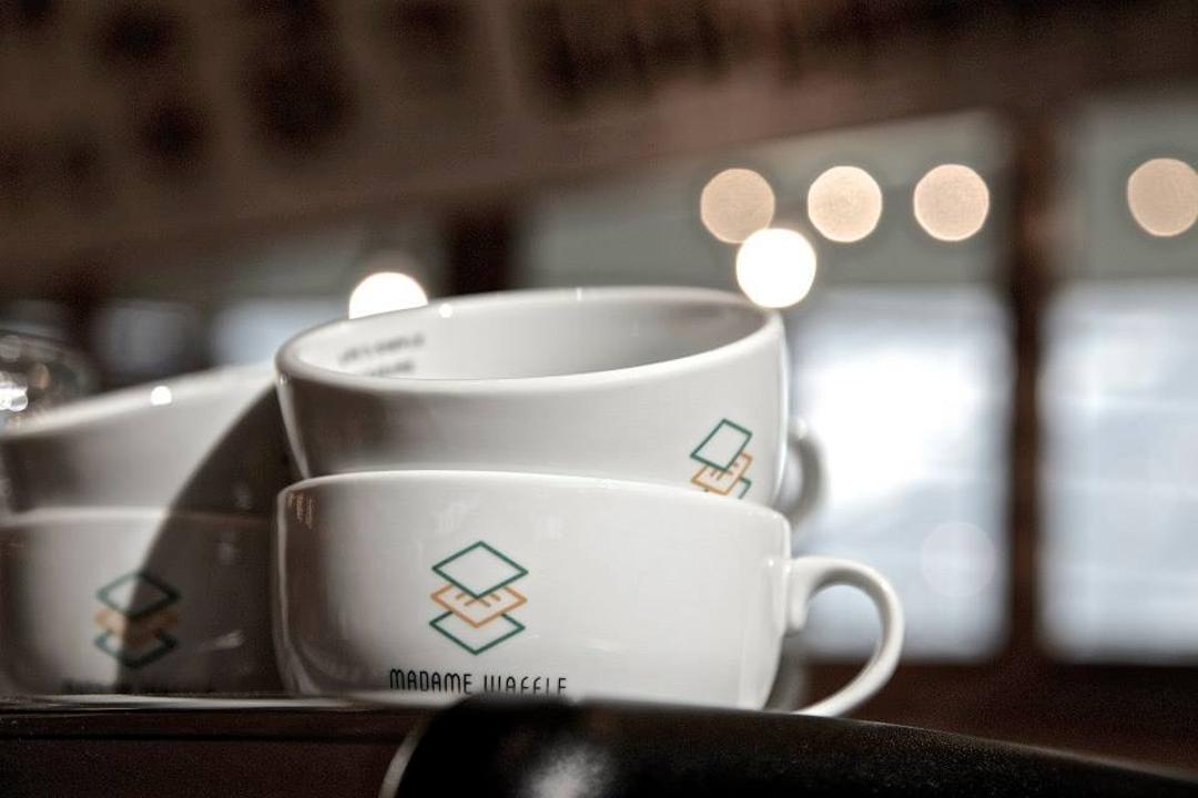 Madame Waffle @ IOI, MLA Design, Minimalistic, Commercial, Cafe, Cup, Mug, Coffee Cup