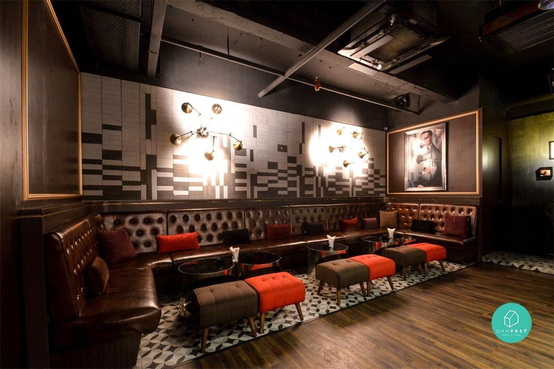 Design Dept Stylised A 1930's Speakeasy Lounge Bar
