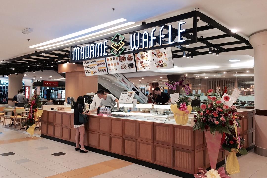 Madame Waffle @ One Utama