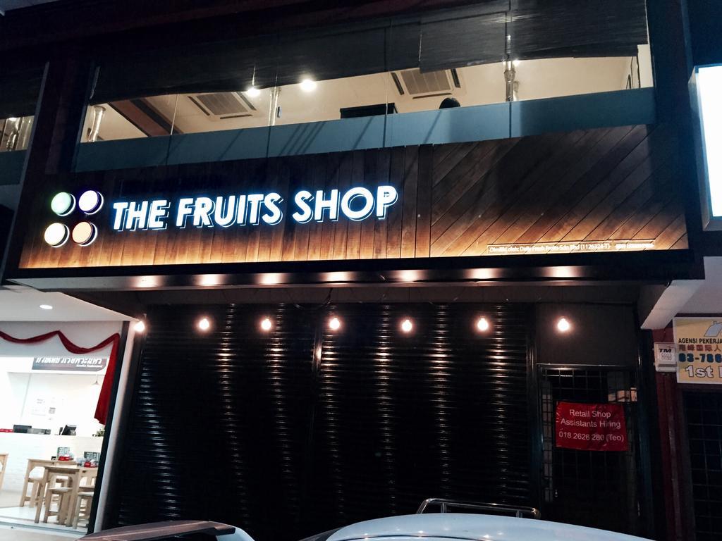 The Fruits Shop @ SS2, Petaling Jaya, Commercial, Interior Designer, MLA Design, Industrial, Exterior, Retail