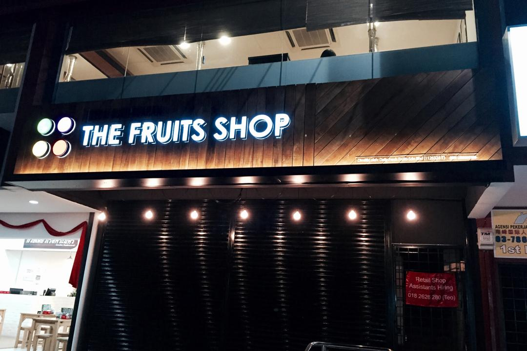 The Fruits Shop @ SS2, Petaling Jaya, MLA Design, Industrial, Commercial, Exterior, Retail