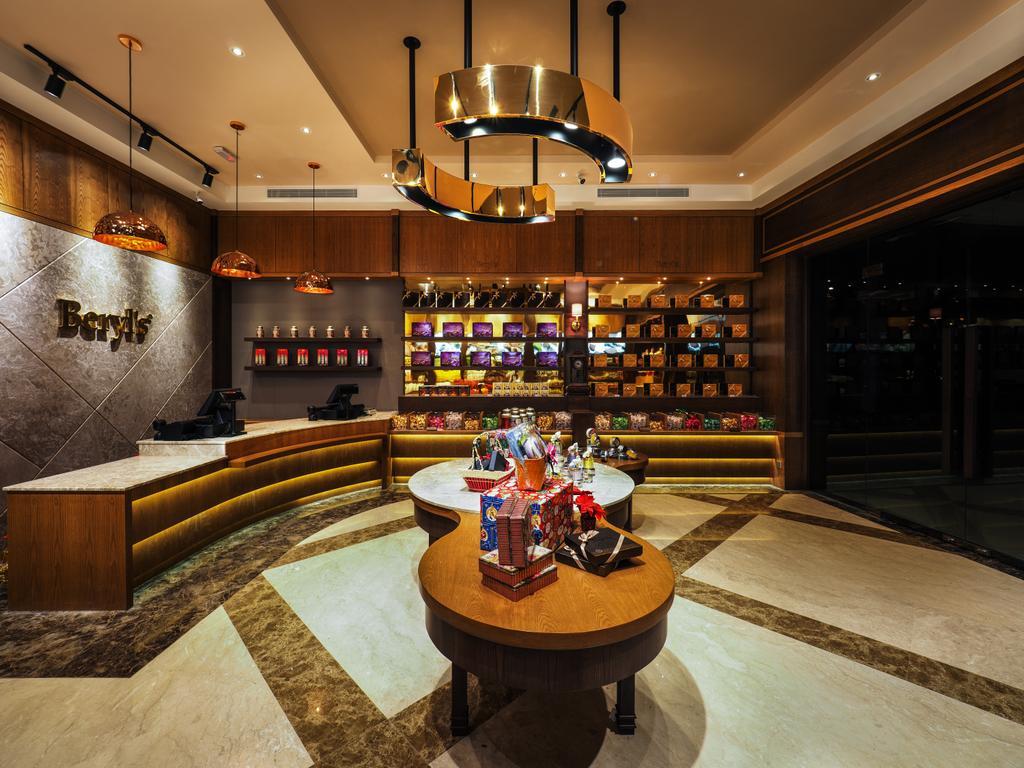 Beryl's Chocolate at Design Village, Commercial, Interior Designer, Archiplan Interior Design, Modern, Industrial, Light Fixture