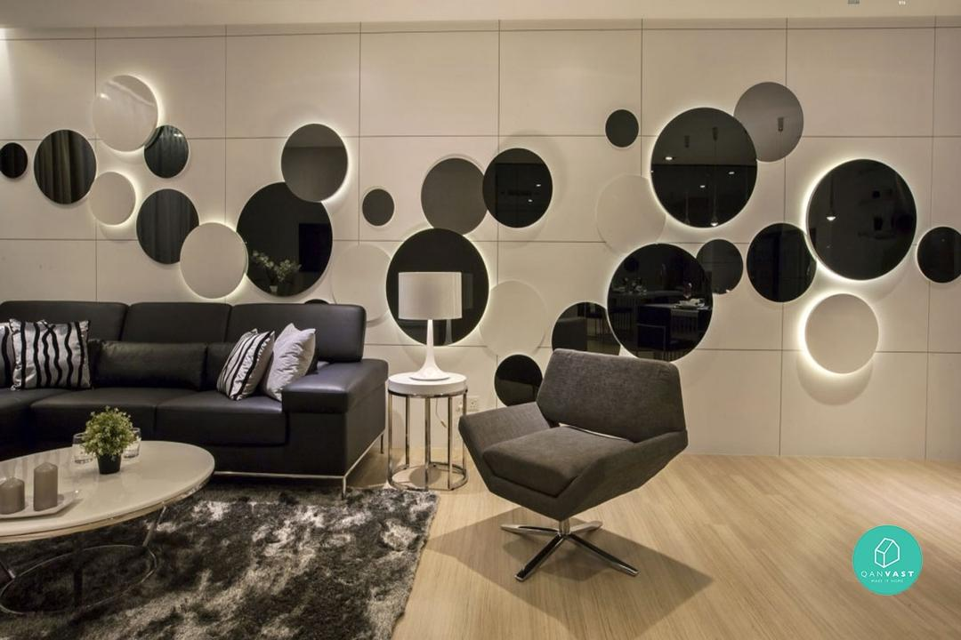 The Magic of Frameless Mirrors