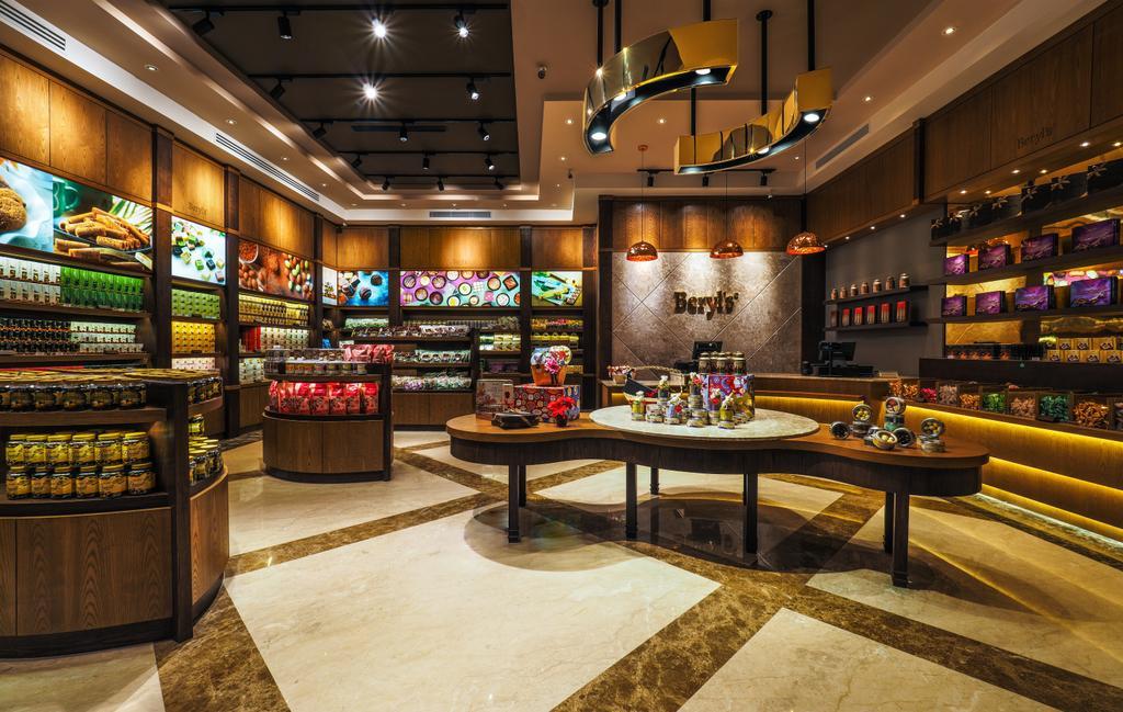 Beryl's Chocolate at Design Village, Commercial, Interior Designer, Archiplan Interior Design, Modern, Industrial, Lighting, Confectionery, Food, Sweets
