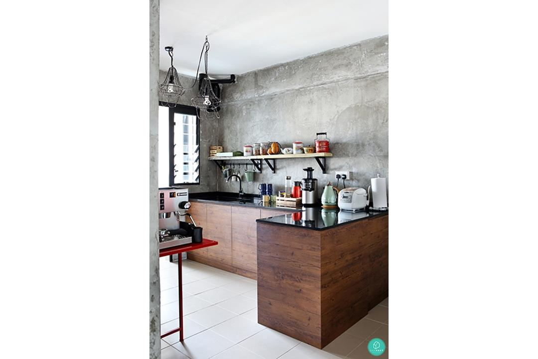 Green-and-Lush-Industrial-Kitchen