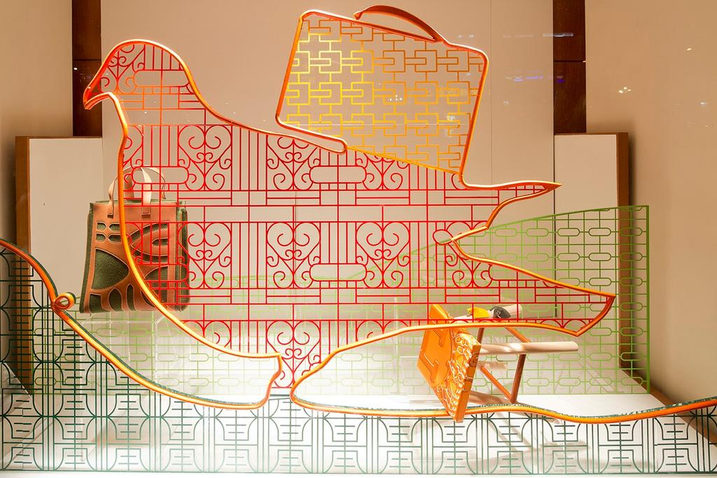 Hermes Petit H, Commercial, Architect, Lekker Architects, Contemporary, Display, Glass Windows, Diagram, Plan