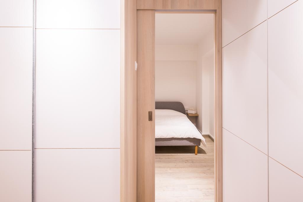 Minimalistic, HDB, Bedroom, Fernvale Road (Block 407B), Interior Designer, Nitty Gritty Interior