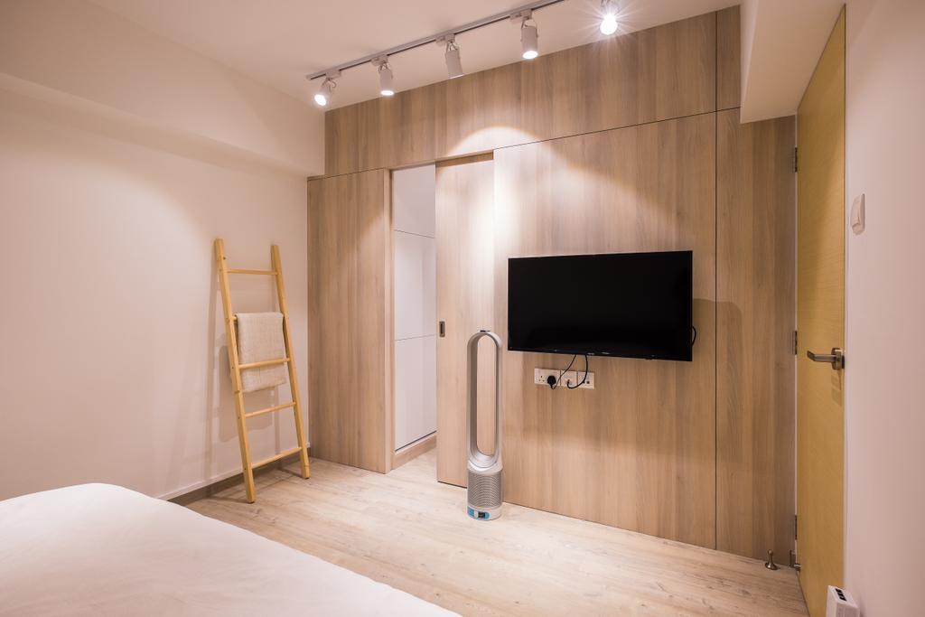 Minimalist, HDB, Bedroom, Fernvale Road (Block 407B), Interior Designer, Nitty Gritty Interior