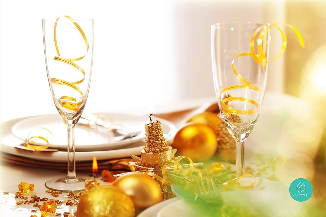 How to Jazz up Your Home For A Swanky New Year's Eve Party