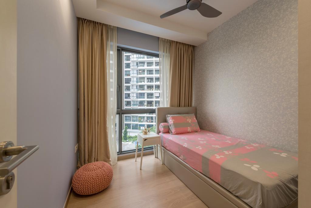 Minimalistic, Condo, Bedroom, 1 Riversound Residence, Interior Designer, Summit Design Studio, Bed, Furniture, Indoors, Interior Design, Room