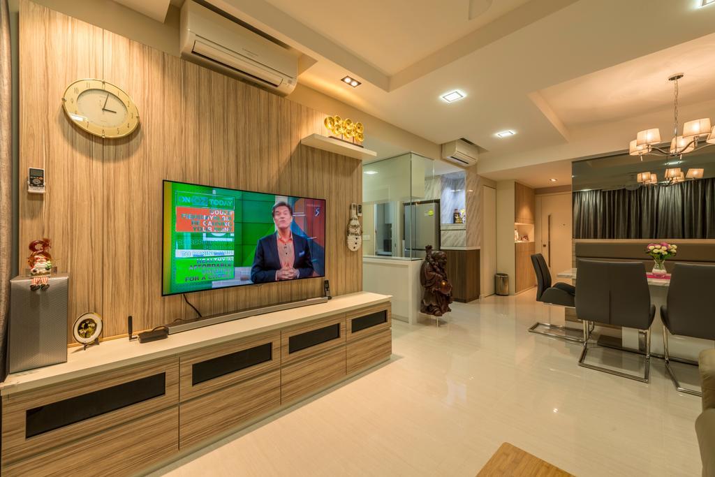 Minimalistic, Condo, Living Room, 1 Riversound Residence, Interior Designer, Summit Design Studio, Flooring