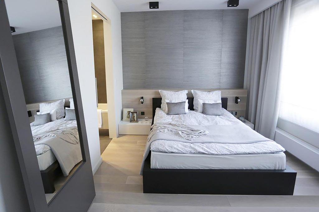 Minimalistic, Condo, Bedroom, Poshgrove East, Interior Designer, ARK-hitecture, Industrial, Bed, Furniture