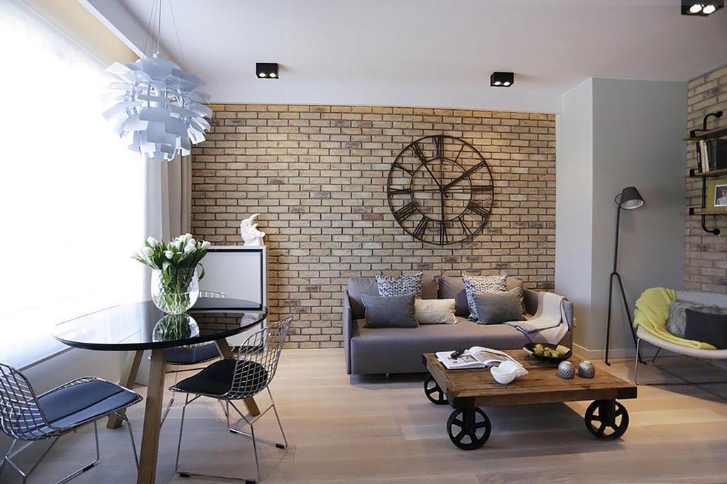 Minimalistic, Condo, Living Room, Poshgrove East, Interior Designer, ARK-hitecture, Industrial, Chair, Furniture, Indoors, Interior Design, Couch, Dining Room, Room