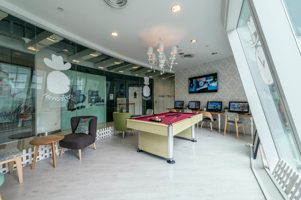 Eu Tong Sen, Commercial, Interior Designer, Tan Studio, Modern, Billiard Room, Furniture, Indoors, Pool Table, Room, Table, Dining Table