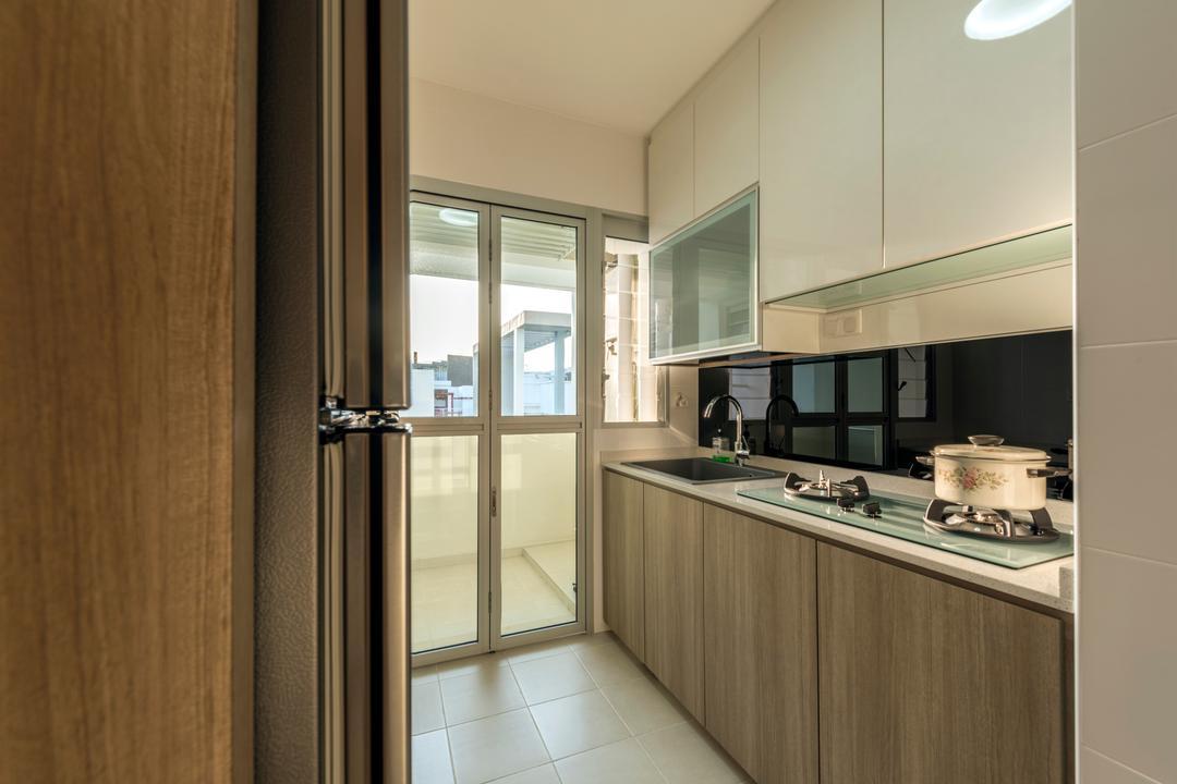Fernvale Road (Block 453A), Tan Studio, Industrial, Kitchen, HDB, Cooker