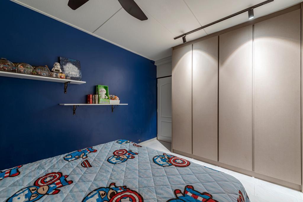 Modern, HDB, Bedroom, Yishun Ring Road, Interior Designer, Tan Studio, Industrial