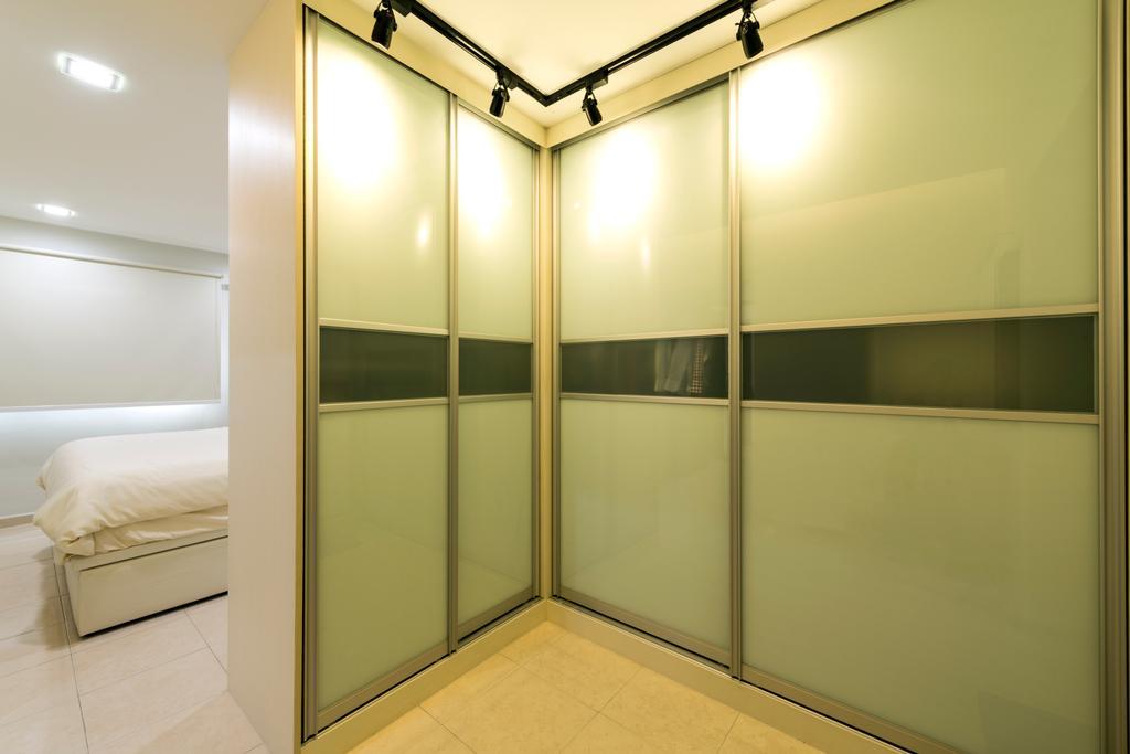 Modern, HDB, Bedroom, Anchorvale Road, Interior Designer, Tan Studio