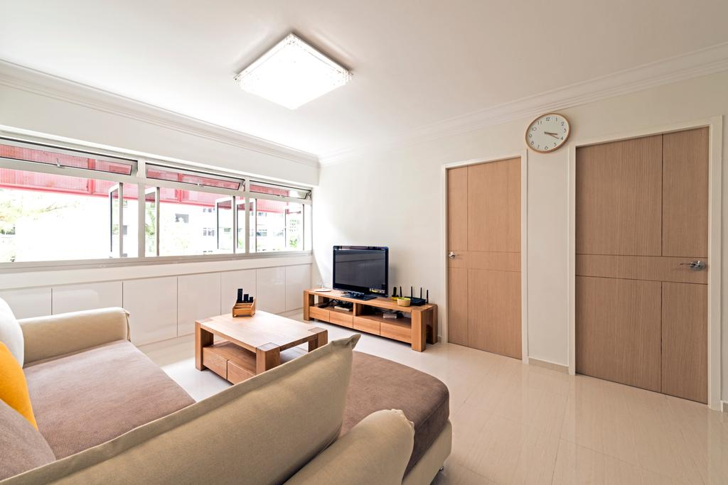 Scandinavian, HDB, Living Room, Yung An Road, Interior Designer, Tan Studio, Minimalistic, Couch, Furniture, Indoors, Interior Design