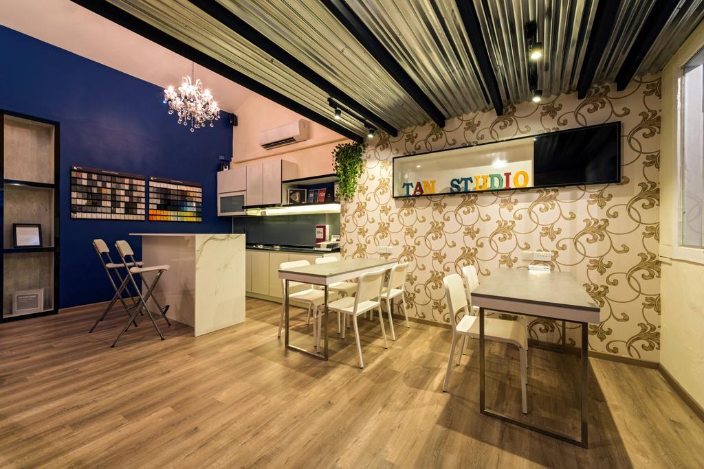 Chiku, Commercial, Interior Designer, Tan Studio, Industrial, Dining Table, Furniture, Table, Dining Room, Indoors, Interior Design, Room
