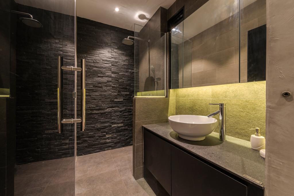 Chiku, Commercial, Interior Designer, Tan Studio, Industrial, Bowl, Bathroom, Indoors, Interior Design, Room, Toilet