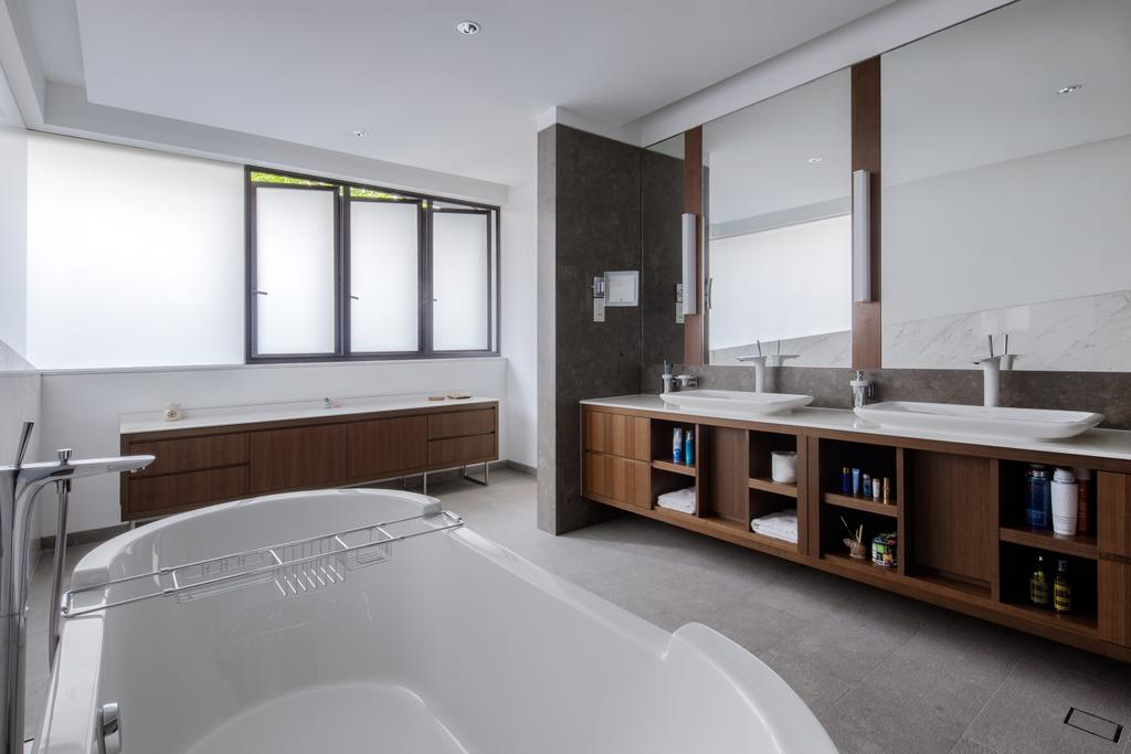 Modern, Landed, Bathroom, Kingmeads Roads, Interior Designer, Weiken.com, Indoors, Interior Design, Room
