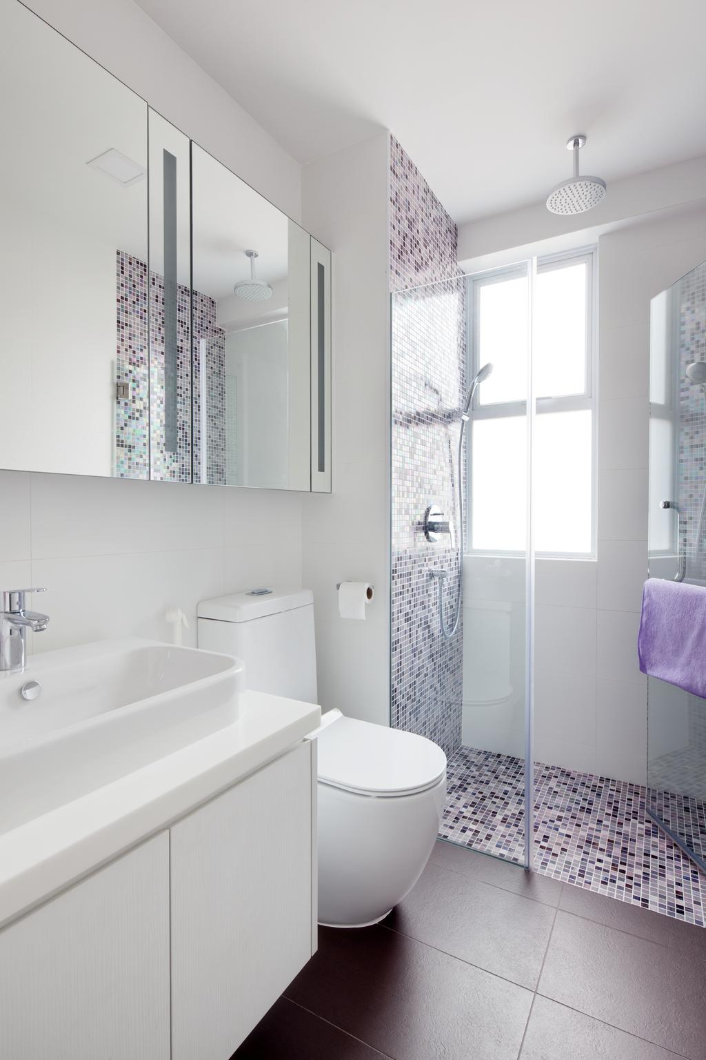 Modern, Landed, Bathroom, Mimosa View, Interior Designer, Weiken.com, Indoors, Interior Design, Room