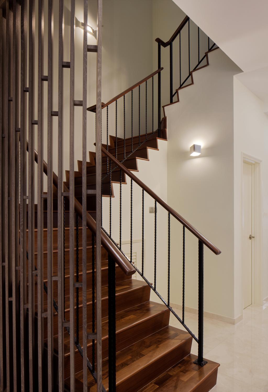 Modern, Landed, Mimosa View, Interior Designer, Weiken.com, Banister, Handrail