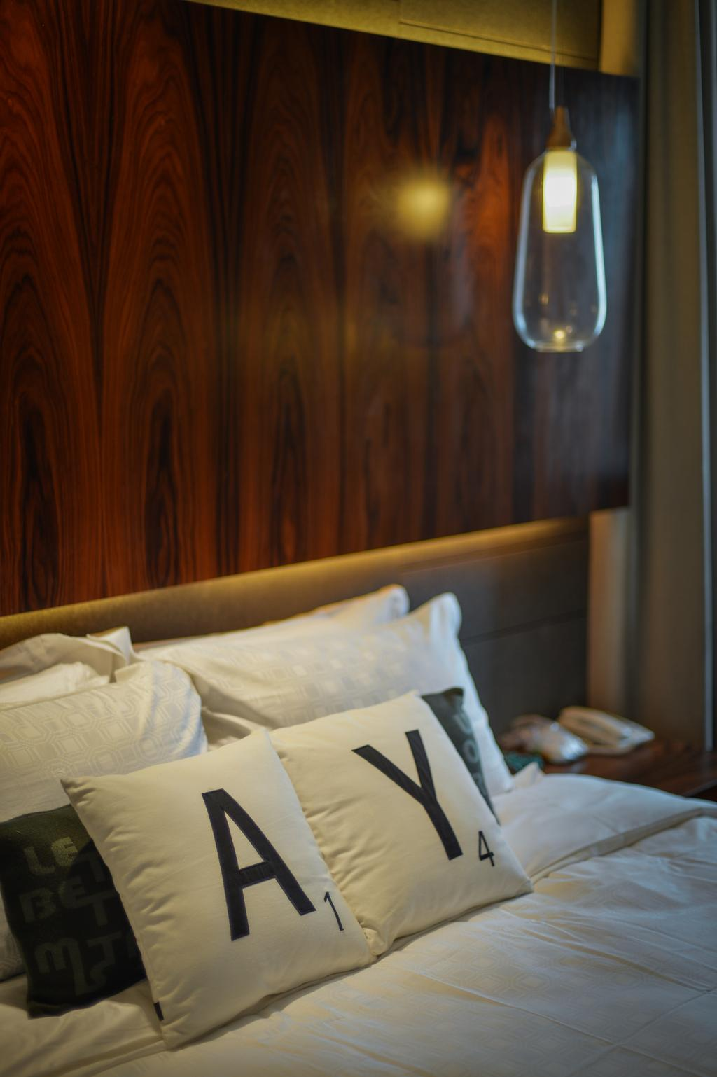 Contemporary, Landed, Bedroom, Kiara View, Interior Designer, Hoe & Yin Design Studio