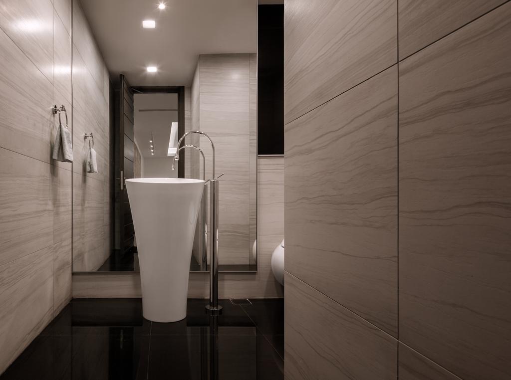 Modern, Landed, Bathroom, Carmicheal Road, Interior Designer, Weiken.com, Indoors, Interior Design, Room