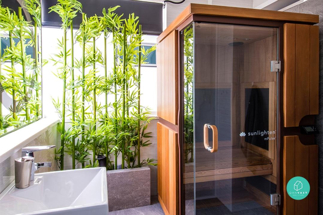 9 Luxury Spas That Are Actually Bathrooms At Home 19