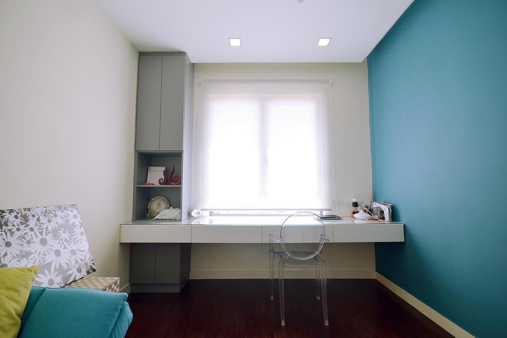 Modern, Condo, Study, Windows On The Park, Interior Designer, The Grid Studio, Contemporary